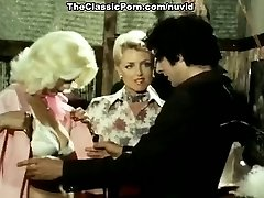 Juliet Anderson, John Holmes, Jamie Gillis in classic tear up
