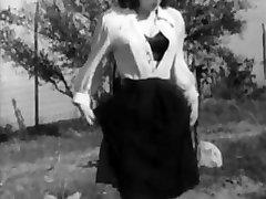 Jotain Outoa Vintage Alushousut Ja Sukat