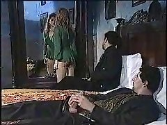 Sexy chick in old school porn movie 1