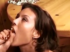 Retro blowjob-facial cumshot compilation