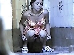 Russian Public Toilet Spy Webcam - Retro Voyeur 01