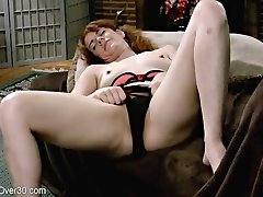 Super-hot Mature Redhead Give Herself Some Finger Pleasure