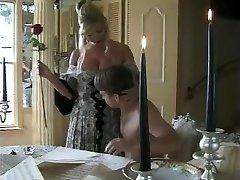 Hot MILF With Fat Slit Hung Boy