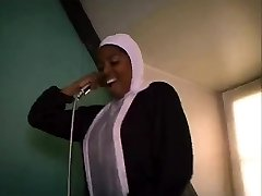 African French nun deepthroating and shagging big black cocks