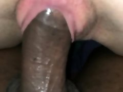 See her ride a Thick Dark-hued Dick