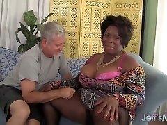 Marlise Morgan, The Ebony BBW Dick Deep-throater