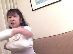 53yr old Granny Masami Nonaka Creampied (Uncensored)