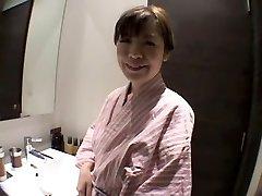 Naughty Japanese whore in Amazing Shower, Solo Female JAV vignette