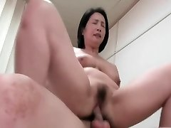 asian milf mature cowgirl compilation