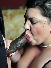 xxx BBW Latina blowing Black Gangster