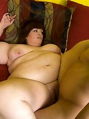 Horny boy discovers the joy of shagging a bbw by hooking up with sexy Jezzebel Joli