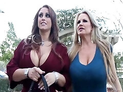 Huge Titty Bitches Having A Wild Night On The Town