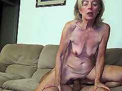 81 years old mom porked by stepson