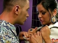 Busty babe Angelica Heart gets fucked