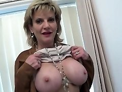 Unfaithful british milf lady sonia showcases her huge tits