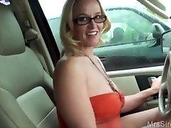 Wifey Fucks Stranger in Backseat