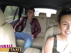 FemaleFakeTaxi Hot Cabbie wants to get fucked and get jism all over her bumpers