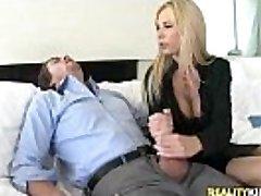 Brooke Tyler gets pussy fucked in Bone Bonus by BigTitsBoss
