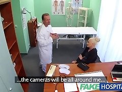 FakeHospital Dirty doctor fucks busty porn starlet