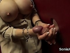 Adulterous brit milf lady sonia exposes her large milk cans01