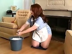 chubby maid for molten sex