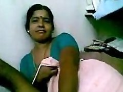 Indian Mature Black Maid teasing her tormentor