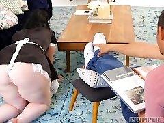 Big Booty Maid Virgo Peridot Gets Plumbed by Sir