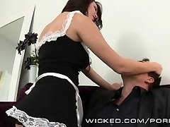 Holly Michaels is one super-steamy maid