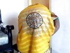 Bangladeshi maid leaning