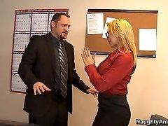 Sarah Vandella & Alec Knight in Kinky Office