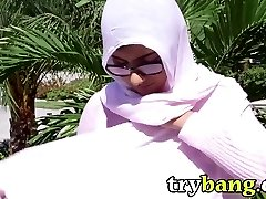 Arab Dame Brings Home a Milky Dude and What Happens Next Is WOW