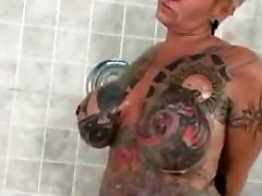 Famous Nudes a poppin Tat Doll Gets nasty