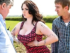 Harmony Reigns & Danny D in Tiny British Cock-Bi-atch - Brazzers
