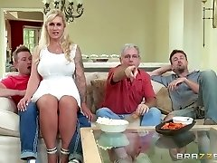 Brazzers - Stepmother takes some young cock