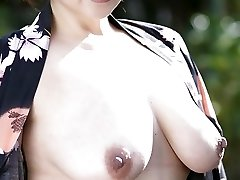 50s Japanese with Extraordinaire Natural Tits