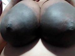 HUGE AREOLAS Idian Dame likes MY N-gg-r Balls