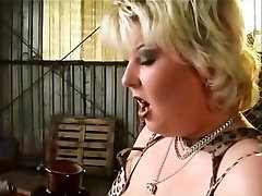 obese babe well fucked and taking a facial