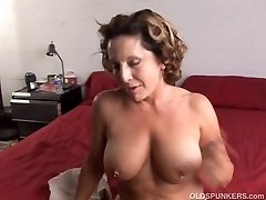 Fit old spunker luvs a firm fuck and a sticky facial cumsh