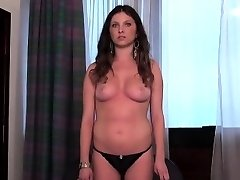 Audition babe goes home after hardcore sex and bum hole scre