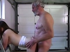 20 cute jolly female gets large old dicking in her little hollows