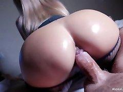 Cougar Hot Riding on Hard Stiffy, 4K (Ultra HD) - Alena LamLam