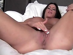 Angela Salvagno and Her Huge Clit