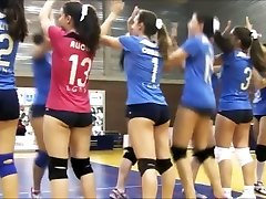 SWEETS bootie SWEETS cameltoe on volleyball