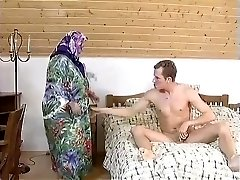 FAT BBW GRANNY MAID Boned Slightly IN THE ROOM