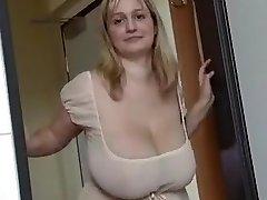 Fabulous homemade Big Mounds, Blonde xxx video