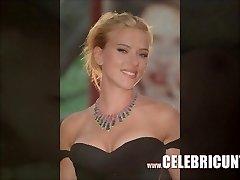 Luxurious Scarlett Johansson Bare Flaunting Juicy Tits & Muff HD