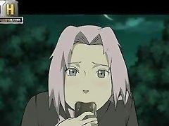 Naruto Pornography - Good night to penetrate Sakura