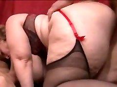 Sophia french bbw gang-fuck