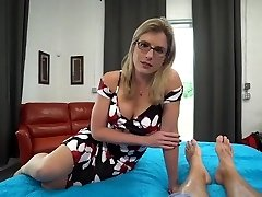 Light-haired milf gets creampie