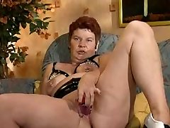 German Pierced Mature Getting Banged